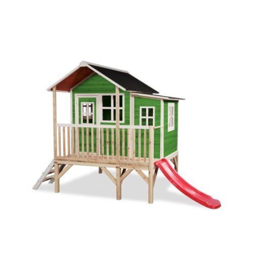 Holzspielhaus Von EXIT Toys EXIT Loft 350 Gruen Bei Serag AG 1