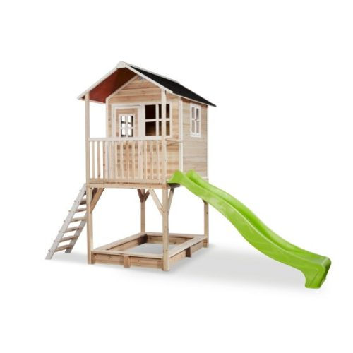 Holzspielhaus Von Exit Toys EXIT Loft 700 Naturel Bei Serag AG 1
