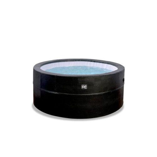 Premium Whirlpool von Exit Toys_EXIT Leather_ ø184x73cm - schwarz_Bei Serag AG1