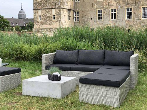 Classic Lounge Ventaris Set 4 Teilig Bei Serag AG
